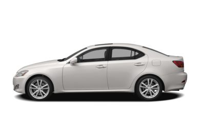 90 Degree Profile 2006 Lexus IS 350