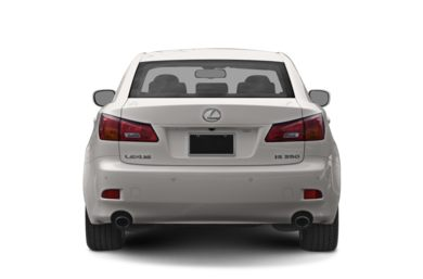 Rear Profile  2006 Lexus IS 350
