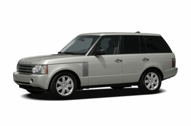 3/4 Front Glamour 2006 Land Rover Range Rover