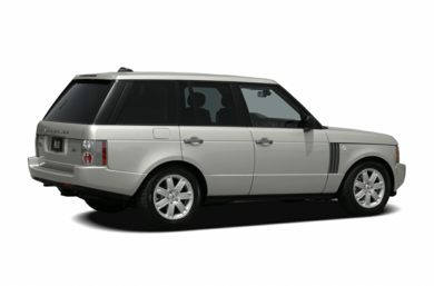 3/4 Rear Glamour  2006 Land Rover Range Rover