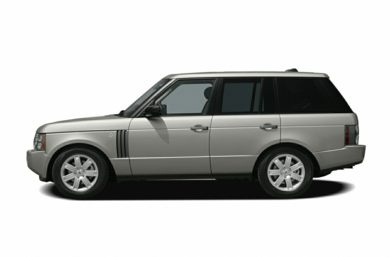 90 Degree Profile 2006 Land Rover Range Rover