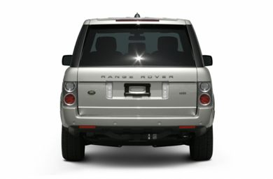 Rear Profile  2006 Land Rover Range Rover