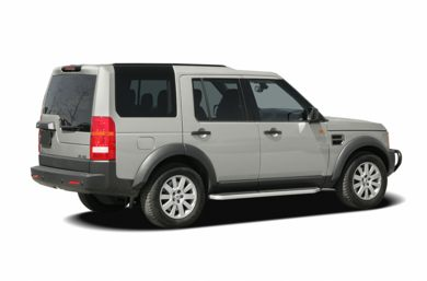 3/4 Rear Glamour  2006 Land Rover LR3