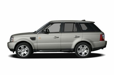 90 Degree Profile 2006 Land Rover Range Rover Sport