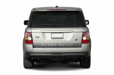 Rear Profile  2006 Land Rover Range Rover Sport