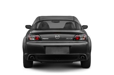 Rear Profile  2006 Mazda RX-8