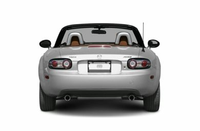 Rear Profile  2006 Mazda MX-5