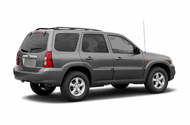 3/4 Rear Glamour  2006 Mazda Tribute