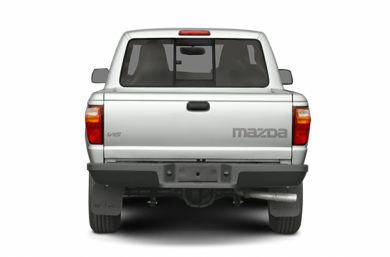 Rear Profile  2006 Mazda B2300