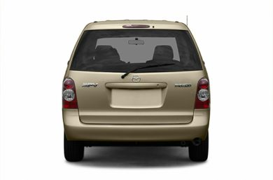 Rear Profile  2006 Mazda MPV