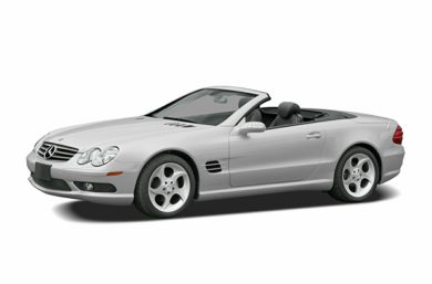 3/4 Front Glamour 2006 Mercedes-Benz SL600
