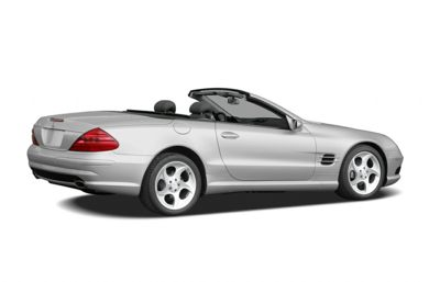 3/4 Rear Glamour  2006 Mercedes-Benz SL55 AMG