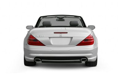 Rear Profile  2006 Mercedes-Benz SL500
