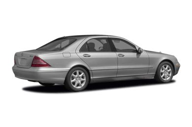 3/4 Rear Glamour  2006 Mercedes-Benz S500