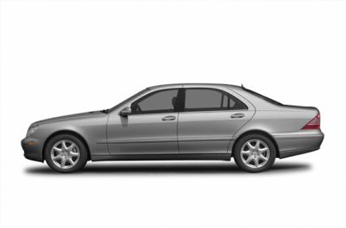 90 Degree Profile 2006 Mercedes-Benz S500
