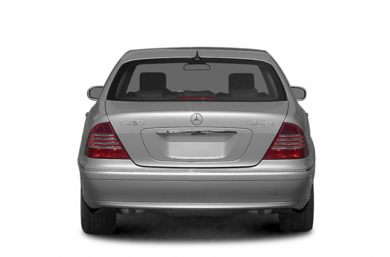 Rear Profile  2006 Mercedes-Benz S55 AMG