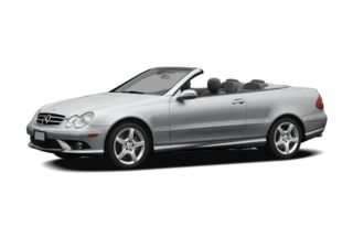 3/4 Front Glamour 2006 Mercedes-Benz CLK55 AMG