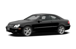 3/4 Front Glamour 2006 Mercedes-Benz CLK500