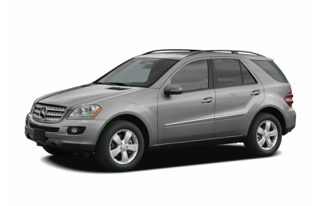 3/4 Front Glamour 2006 Mercedes-Benz ML500