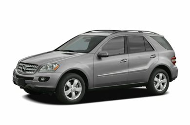 3/4 Front Glamour 2006 Mercedes-Benz ML350