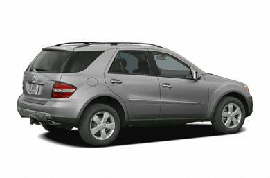 3/4 Rear Glamour  2006 Mercedes-Benz ML500