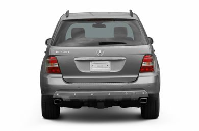 Rear Profile  2006 Mercedes-Benz ML500