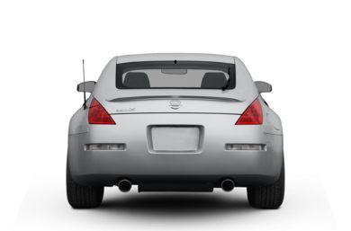 Rear Profile  2006 Nissan 350Z