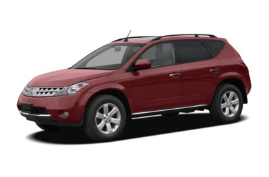 3/4 Front Glamour 2006 Nissan Murano