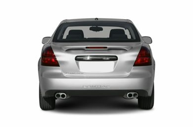 Rear Profile  2006 Pontiac Grand Prix