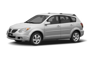 3/4 Front Glamour 2006 Pontiac Vibe