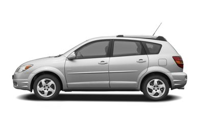 90 Degree Profile 2006 Pontiac Vibe
