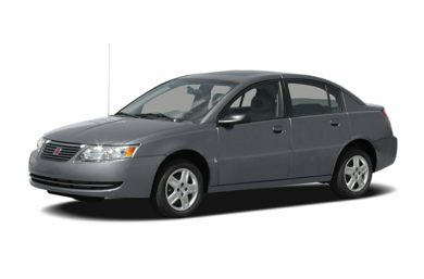 3/4 Front Glamour 2006 Saturn ION