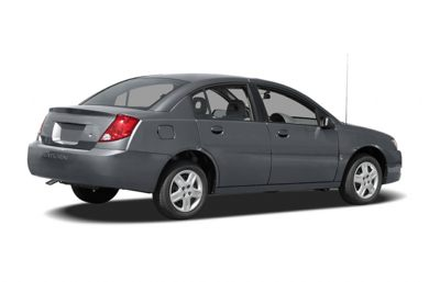 3/4 Rear Glamour  2006 Saturn ION