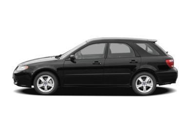90 Degree Profile 2006 Saab 9-2X