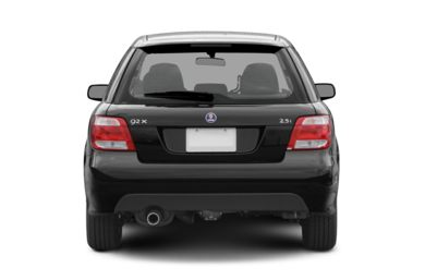 Rear Profile  2006 Saab 9-2X
