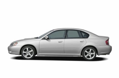 90 Degree Profile 2006 Subaru Legacy