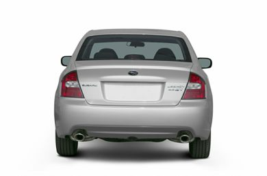 Rear Profile  2006 Subaru Legacy