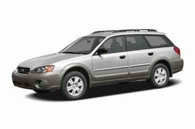 3/4 Front Glamour 2006 Subaru Outback