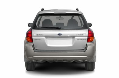 Rear Profile  2006 Subaru Outback