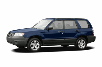 3/4 Front Glamour 2006 Subaru Forester