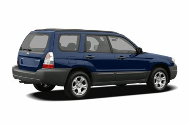 3/4 Rear Glamour  2006 Subaru Forester