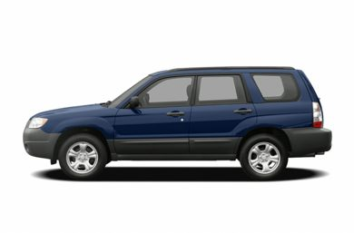 90 Degree Profile 2006 Subaru Forester