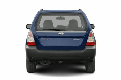 Rear Profile  2006 Subaru Forester