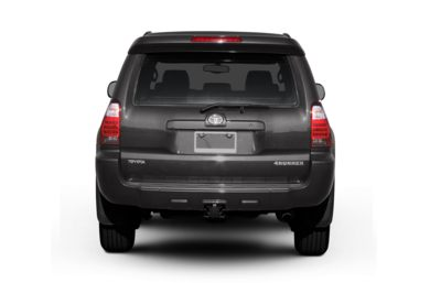 Rear Profile  2006 Toyota 4Runner