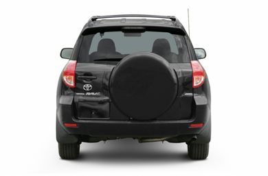 Rear Profile  2006 Toyota RAV4