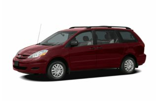 3/4 Front Glamour 2006 Toyota Sienna