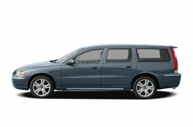 90 Degree Profile 2006 Volvo V70