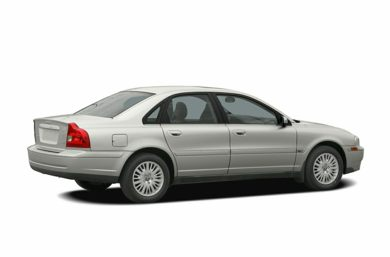 3/4 Rear Glamour  2006 Volvo S80