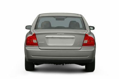 Rear Profile  2006 Volvo S80