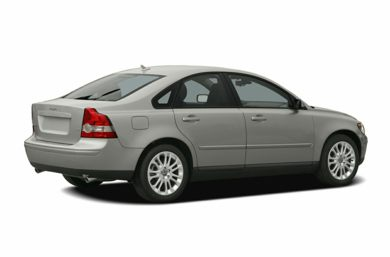 3/4 Rear Glamour  2006 Volvo S40